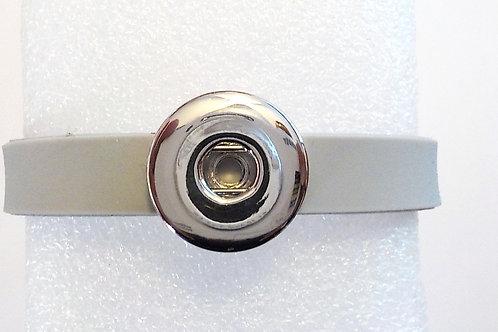 bracelet snap gris souple BS24