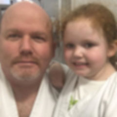 Daddy and Daughter training!