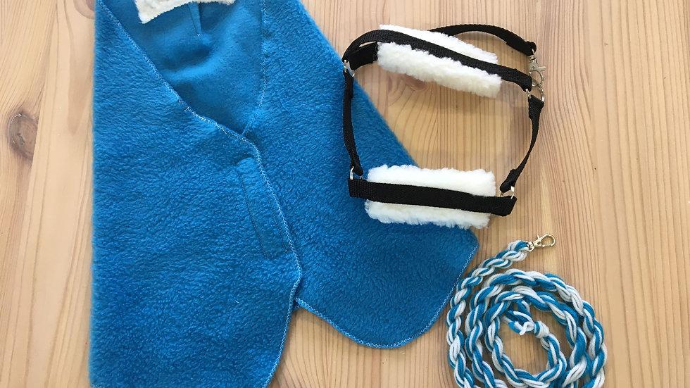 Sininen loimi, riimu ja riimunaru keppihevoselle