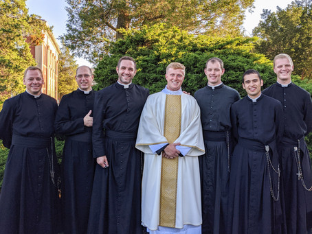 A New Deacon in the Canons Regular of St. John Cantius