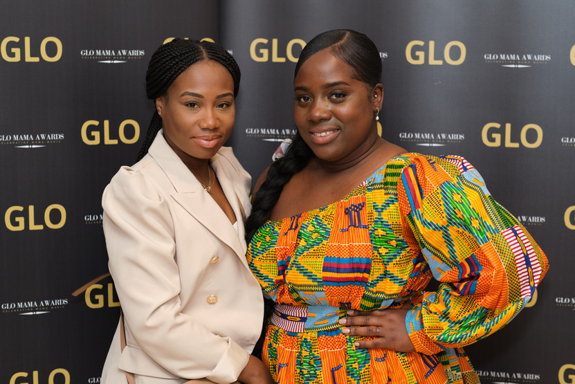 Founder of Diary of a Sickle Cell Mum posing with F`ounder of The Stepmums Club (Both 2nd Annual GLOMAMA Nominees)