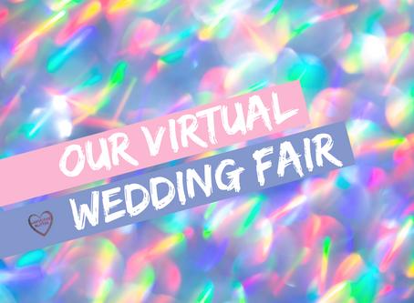 A LUXURIOUS GLITTER VIRTUAL WEDDING FAIR – PART 1