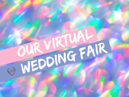 A LUXURIOUS GLITTER VIRTUAL WEDDING FAIR – PART 1