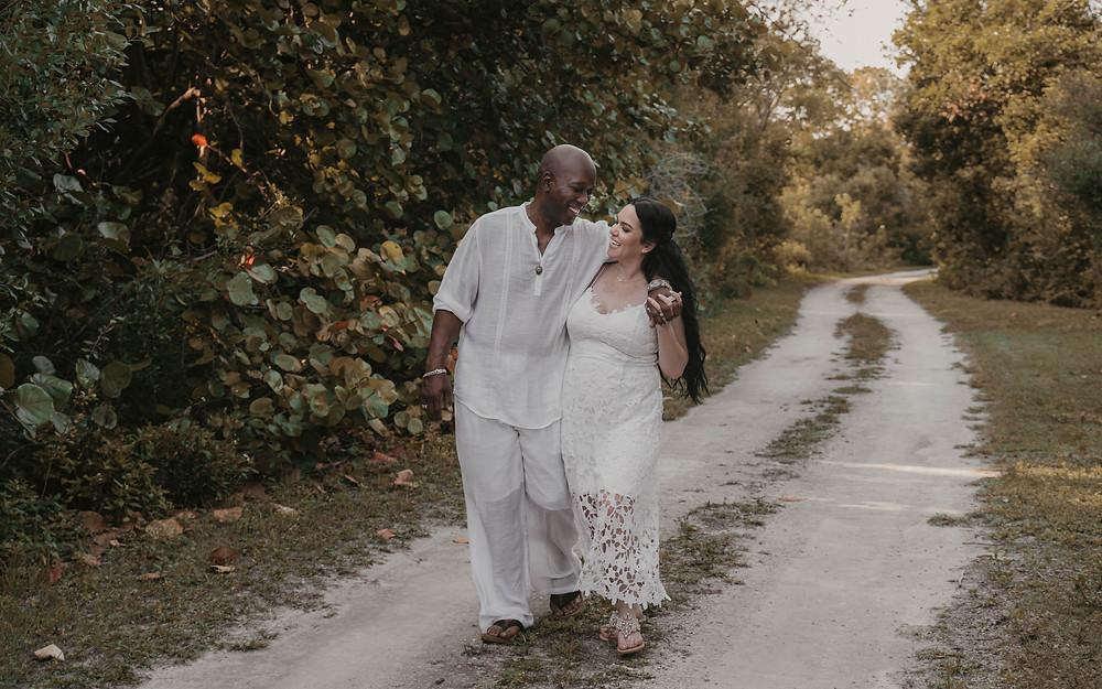 Engagement and wedding photography in Orlando, Florida