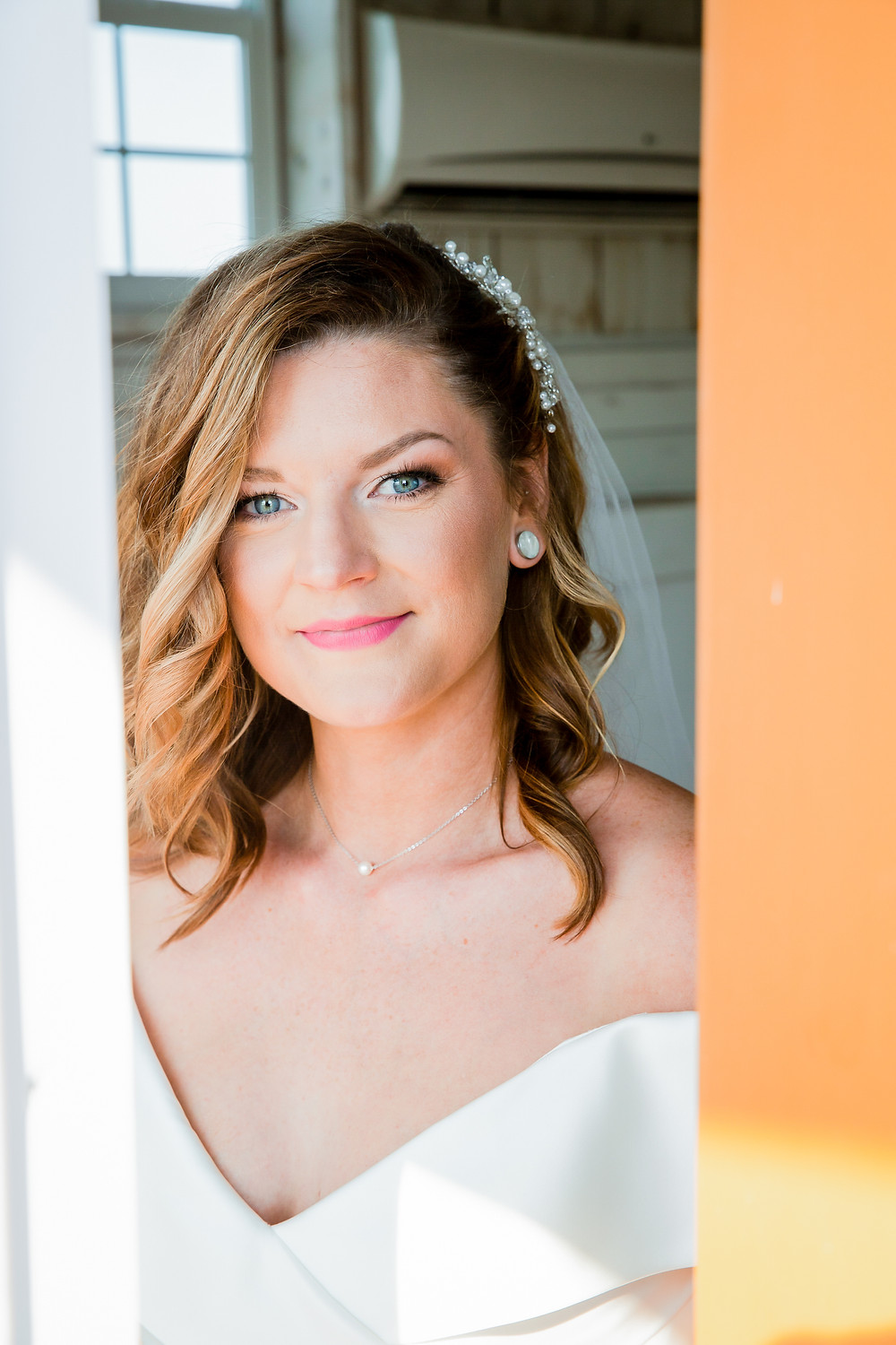 Portrait of bride in Dallas, Texas featured in wedding photography blog article on average costs of wedding photos.