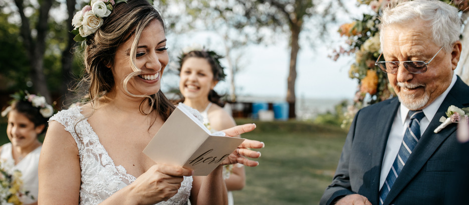 Should I Write My Own Wedding Vows?