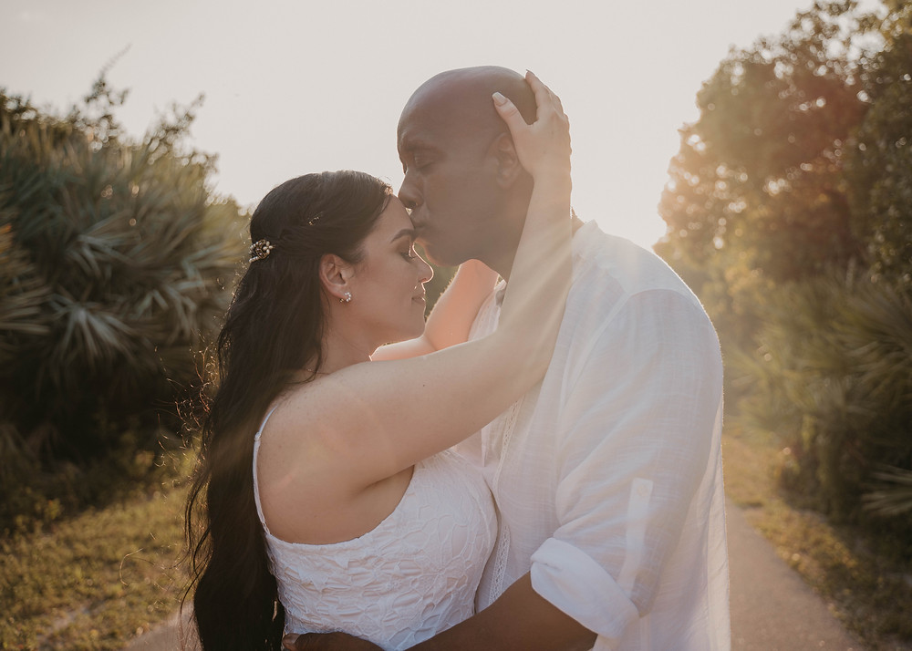 Outdoor engagement photoshoot in Florida by Joy Photo and Video