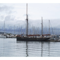 Boats in Brixham Harbour