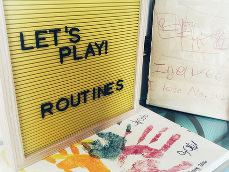 Fun Friday Idea: Creating Routines