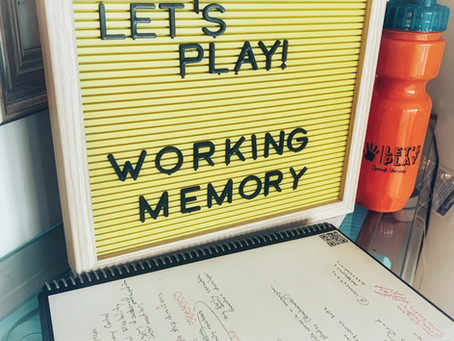 Fun Friday Idea: Working Memory