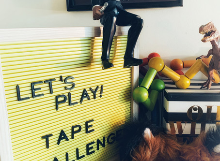 Fun Friday Activity: Tape Challenges
