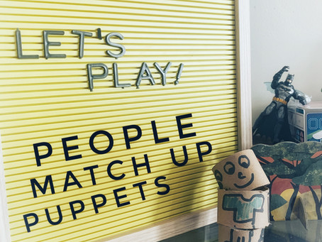 Fun Friday Idea: People Match Up Puppets