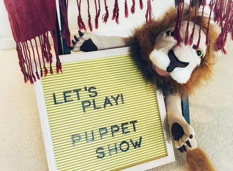 Fun Friday Idea: Puppet Theater