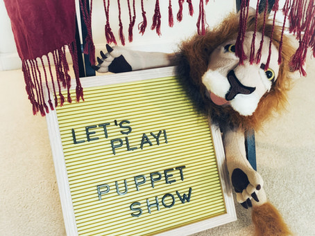 Fun Friday Idea: Puppet Theater