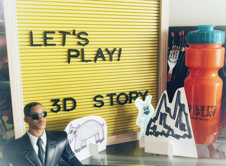 Fun Friday: Turning 2D artwork into 3D stories