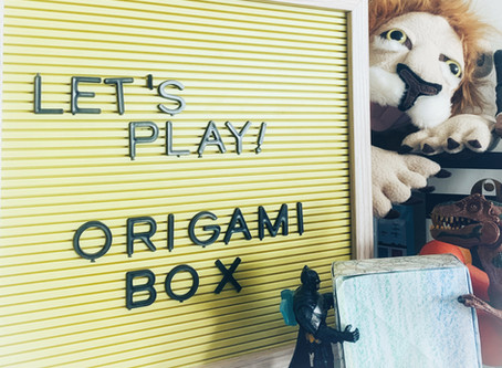 Fun Friday Idea: Origami Box