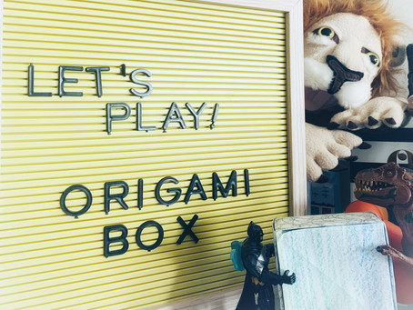 Fun Friday Idea: Origami Box