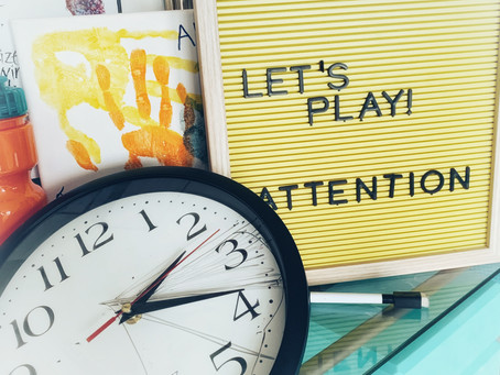 Fun Friday Ideas - What is Attention?