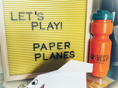 Fun Friday Idea: Paper Airplanes