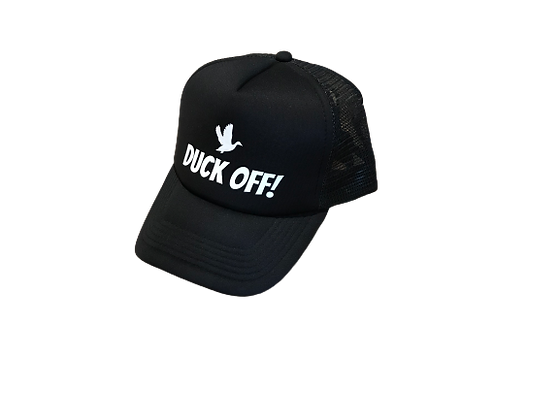 Duck Off Truckers Cap