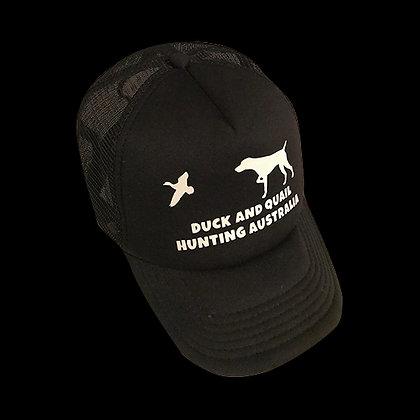 Black DAQHA Hat