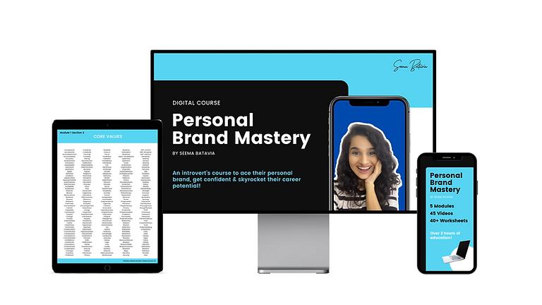 Personal Brand Mastery by Seema Batavia