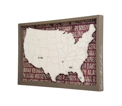 Box Sign - USA