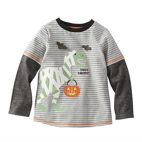 Dino Mummy Halloween Tee