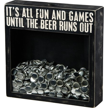 Cork & Cap Holder - Beer Runs Out