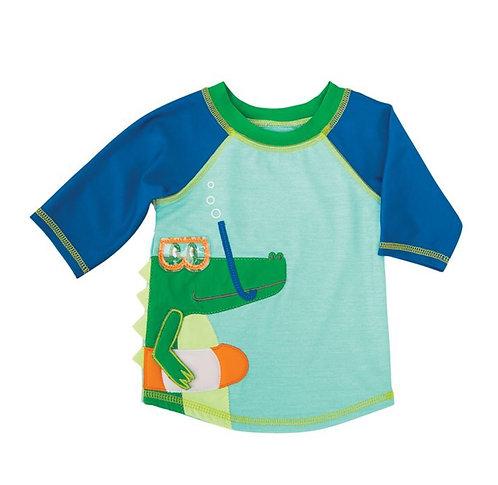 Snorkel Gator Rash Guard Shirt