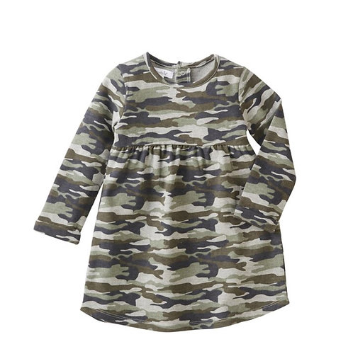 Camo Dress - Long Sleeve