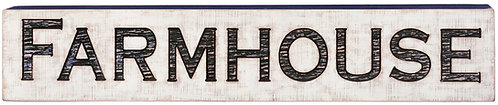 Jumbo Carved Sign - Farmhouse Sign
