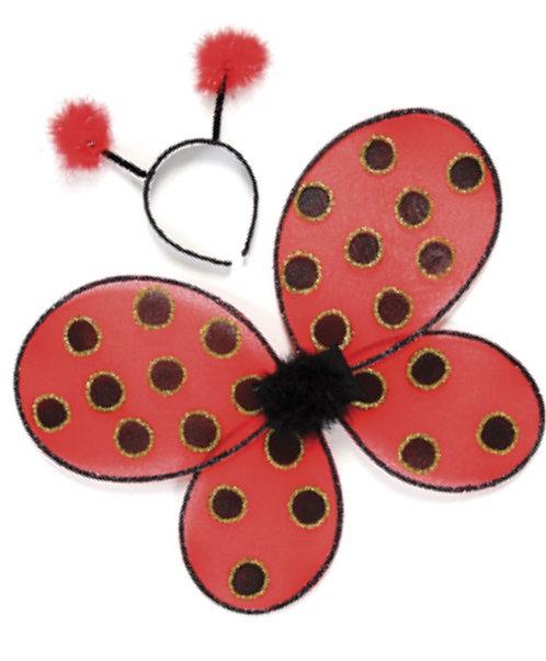 Ladybug Wing & Headband Set