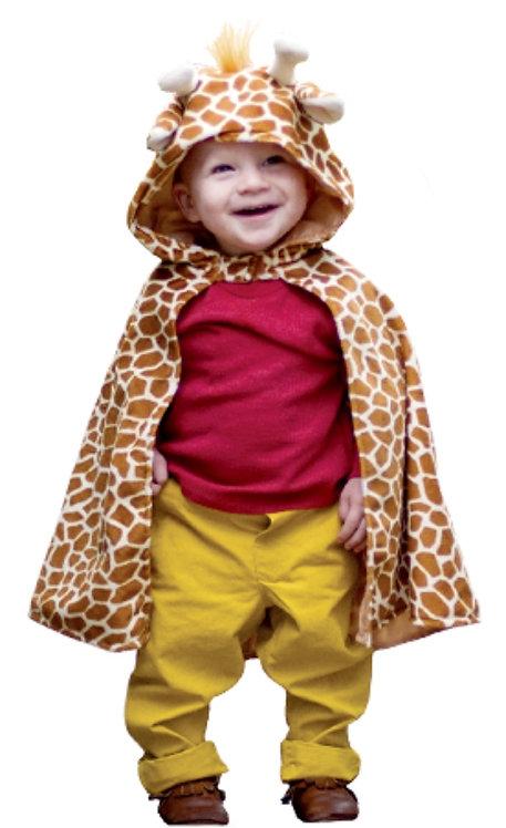 Giraffe Toddler Cape
