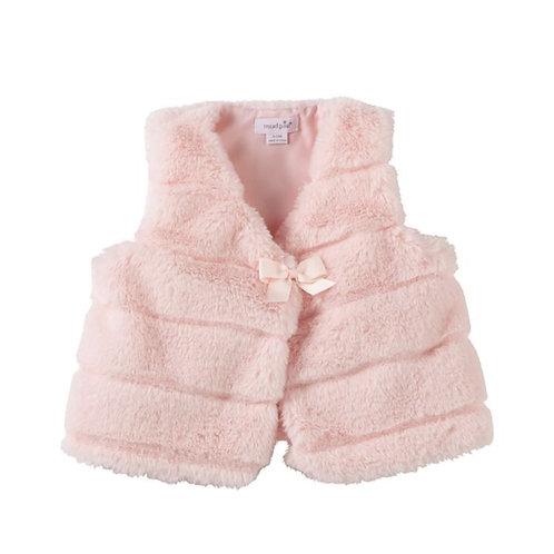 Pink Fur Vest - Infant