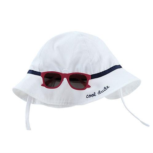 Infant Boys Sunglasses & Hat Set
