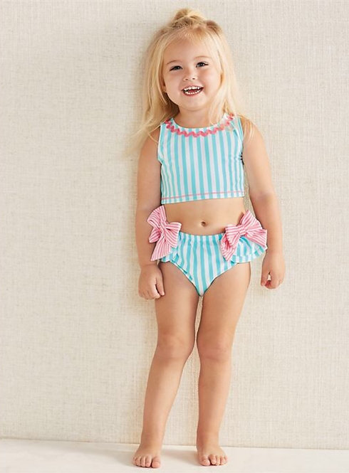 Aqua Bow 2 pc Swimsuit
