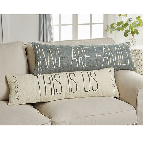 Family Long Pillows - Dhurrie