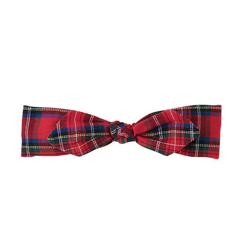 Tartan Plaid Soft Headband