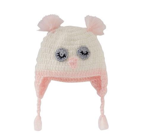 Owl Knit Hat