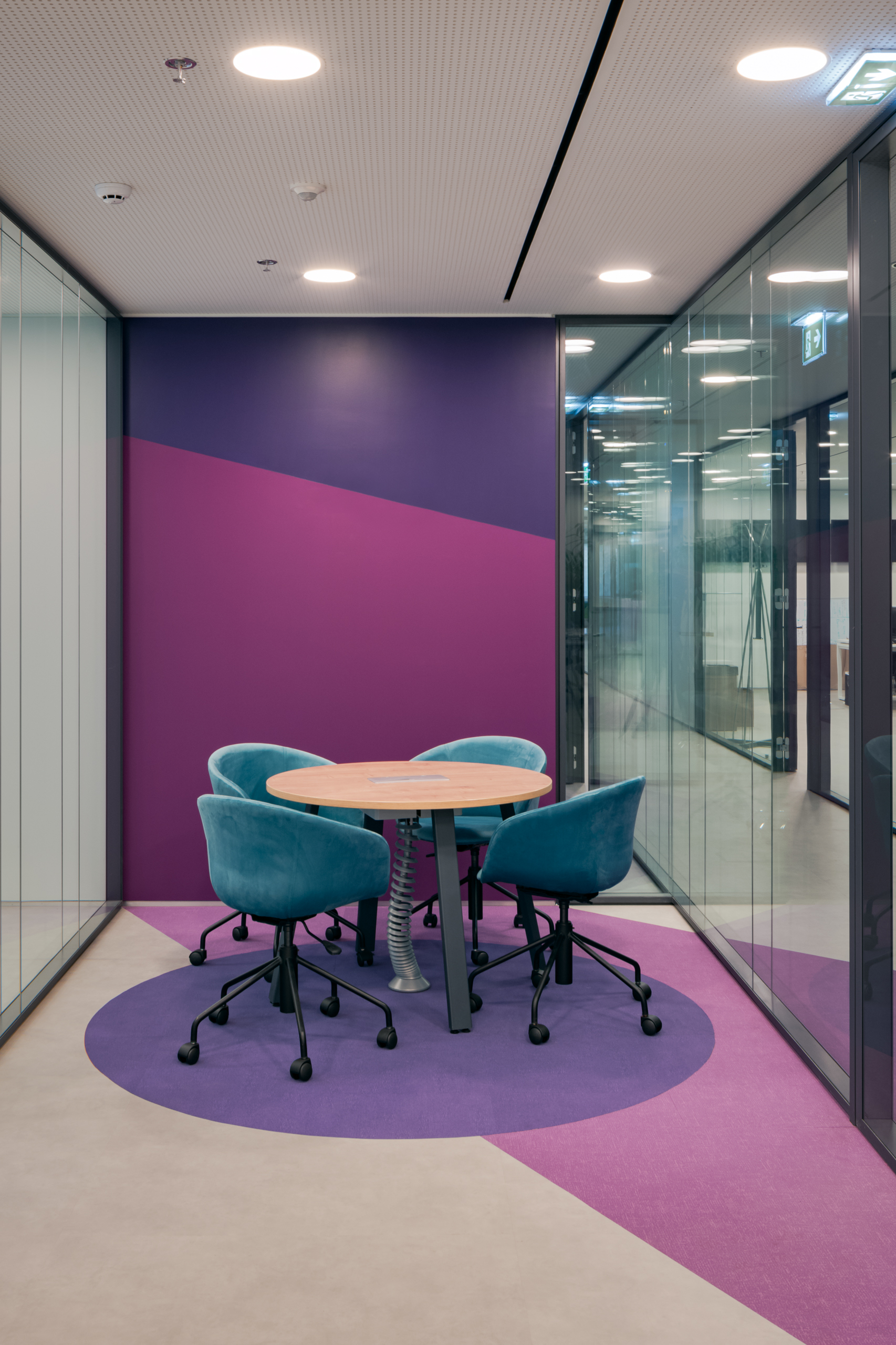 Meeting room designed by Stavropoulou architects
