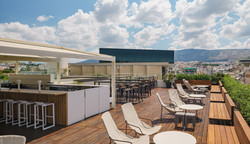 Point A, restaurant renovation, roofgarden design by Stavropoulou Architects