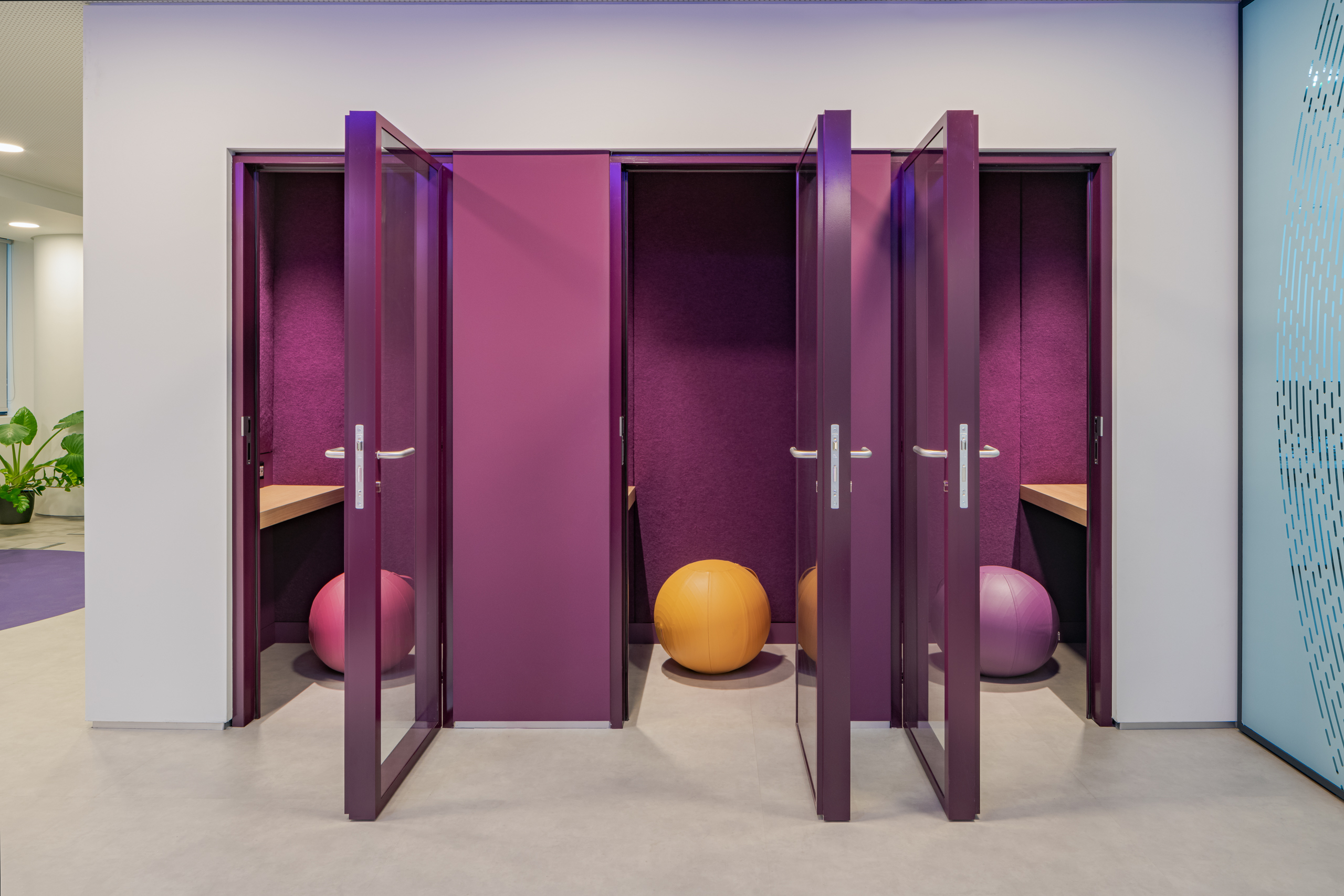 Booth designed by Stavropoulou architects