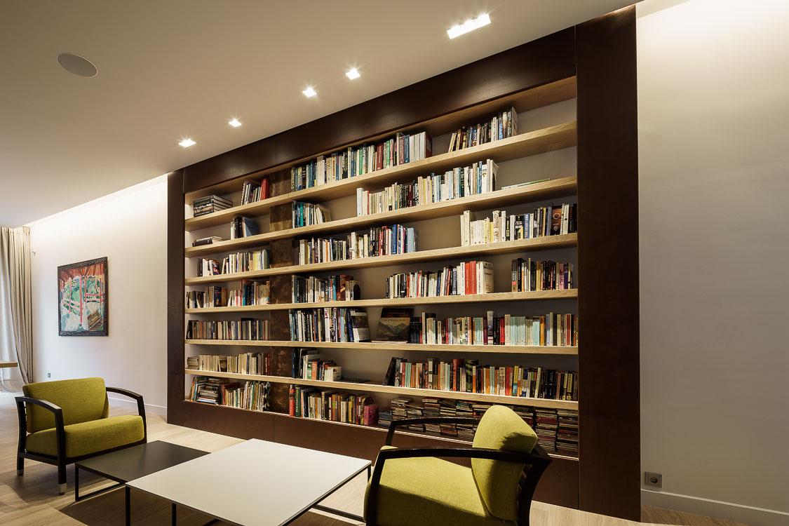 Bookcase design, Stavropoulou architects, greek architects