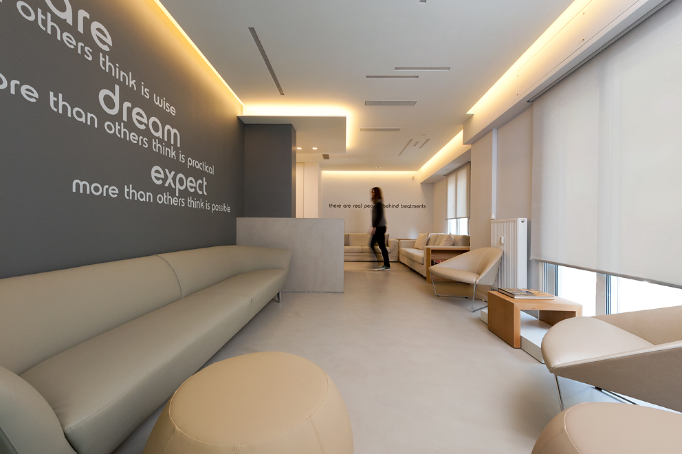 clinic renovation, facilities design, Stavropoulou Architects