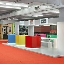 Stavropoulou Architects, Collectove exhibition stand, photo
