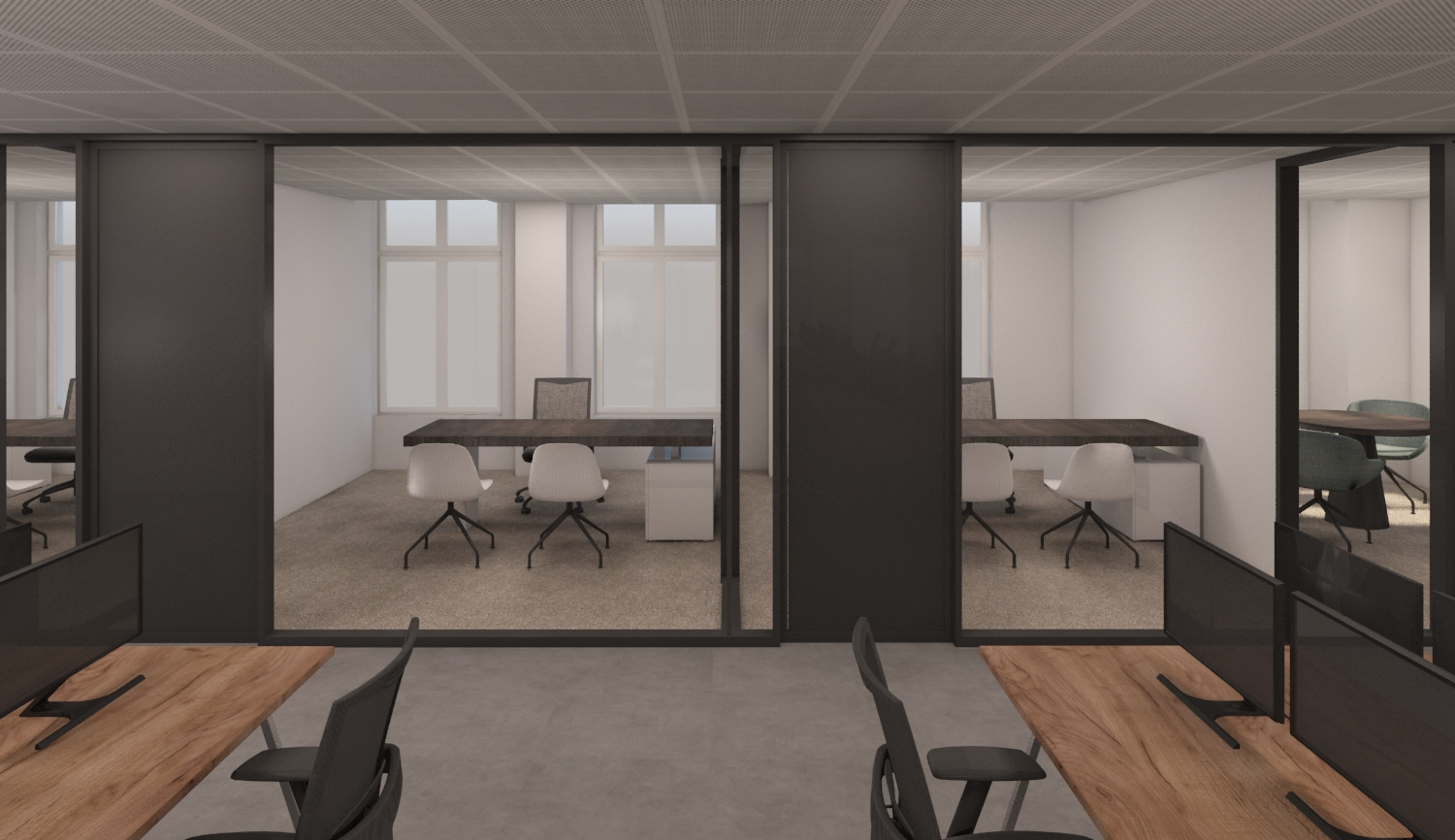 software company's office renovation in London, United Kingdom, office renovation ideas, office refu