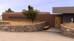 seaside residence, bioclimatic house, Stavropoulou Elena, architect, greek architectsou Elena, desig
