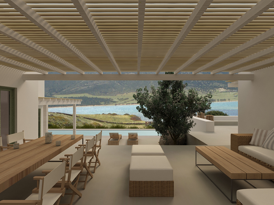 Summer house in Antiparos