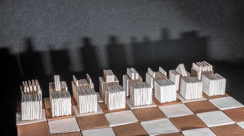 Elena Stavropoulou Ceramic Chess